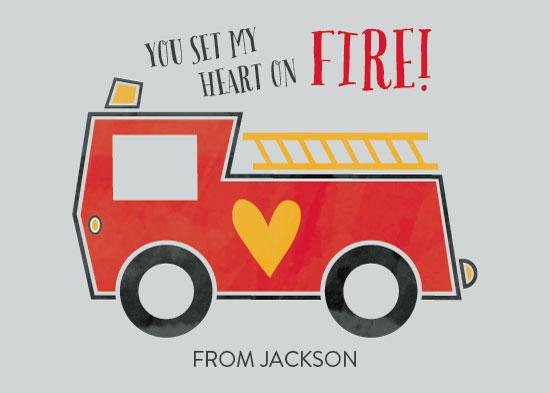 valentine's day - Heart on Fire by Kate Sorensen