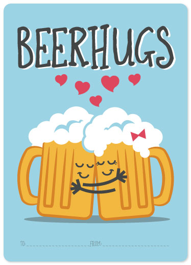 valentine's day - Beer Hugs by Maverick Sausa