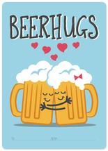Beer Hugs by Maverick Sausa
