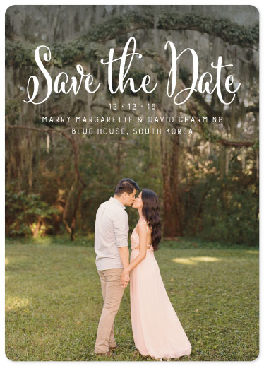 wedding invitations - Save the Date by Maverick Sausa