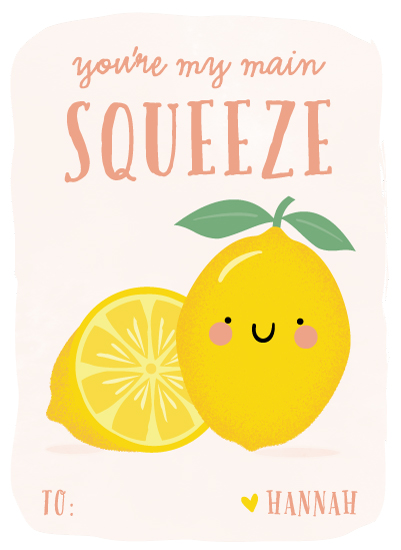 valentine's day - Main squeeze by Anne Holmquist