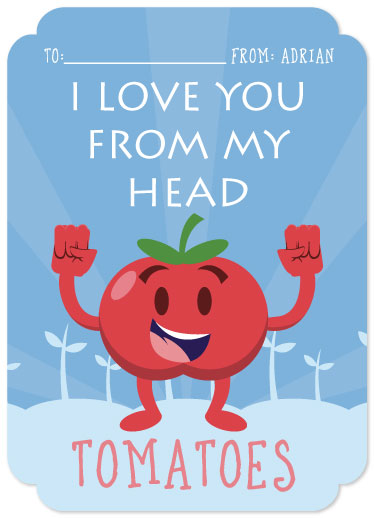 valentine's day - Tomato LOVE by Adrian Remedio