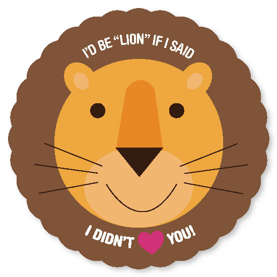 valentine's day - I'd Be Lion by Bronwyne Carr Chapman