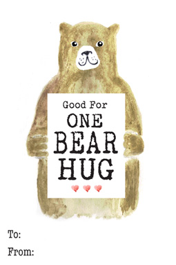 valentine's day - Good For One Bear Hug by Milena Martinez