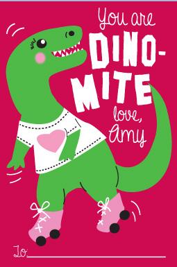 valentine's day - Dino-Mite by Milena Martinez