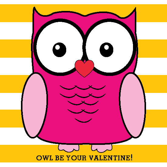 valentine's day - OWL BE YOUR VALENTINE by Bronwyne Carr Chapman