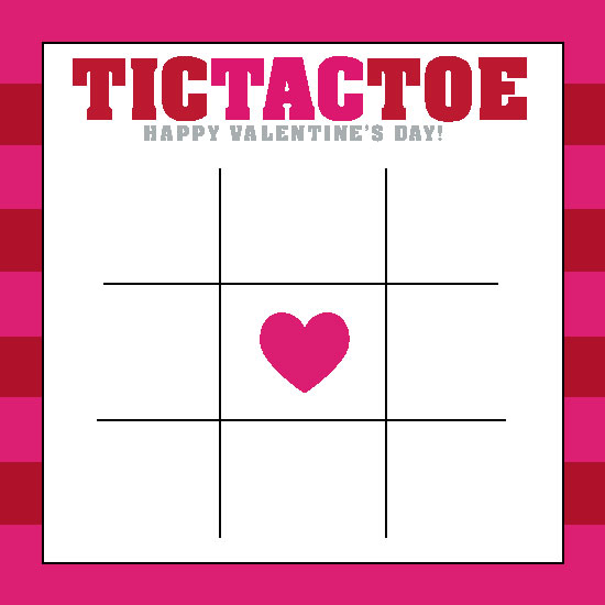 valentine's day - Tic Tac Toe by Bronwyne Carr Chapman