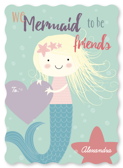 valentine's day - Mermaid to be friends by Agnes Magai
