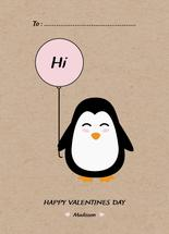 Hi Penguin by Chielo Gabucan