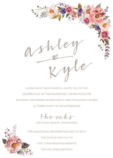 wedding invitations - Country Chic Wedding by Sammi Linder