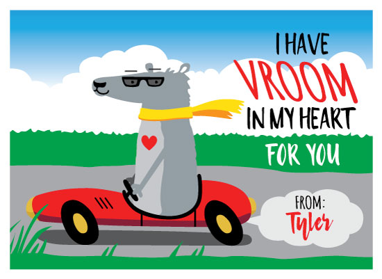 valentine's day - VROOM by Sandy Miranda