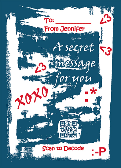 valentine's day - Live secret message by Marina Shteringarts