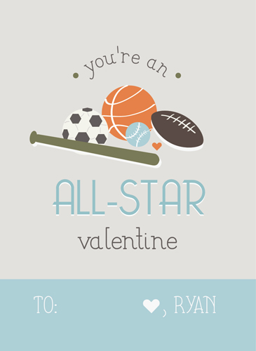 valentine's day - All-star friend by Jayme Marie Designs