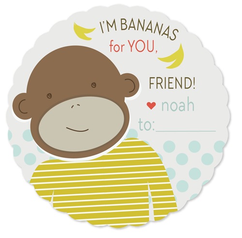valentine's day - bananas for you by Jayme Marie Designs