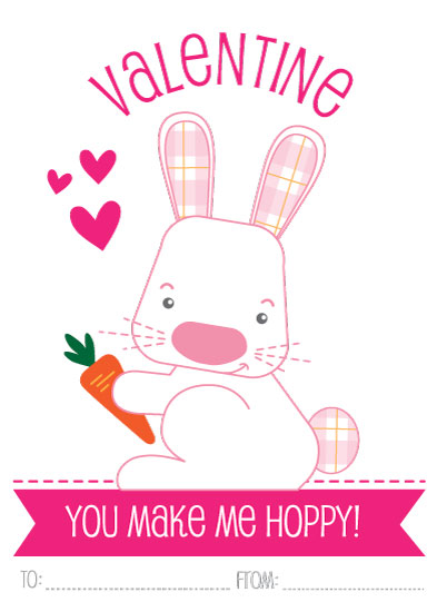 valentine's day - You Make Me Hoppy by Debra Cooper