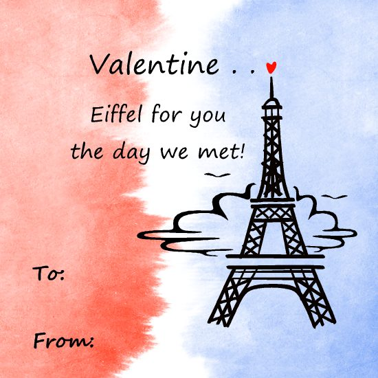 valentine's day - Eiffel for you, Valentine! by LD Gonzalez