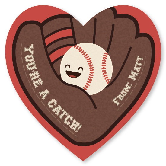 valentine's day - You're a Catch by Anna Elizabeth Whinnery