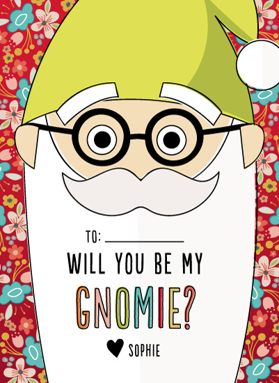 valentine's day - Will You Be My Gnomie? by Alex Obering
