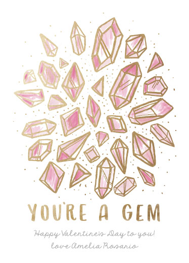 valentine's day - Golden Gems by Cat Caudillo