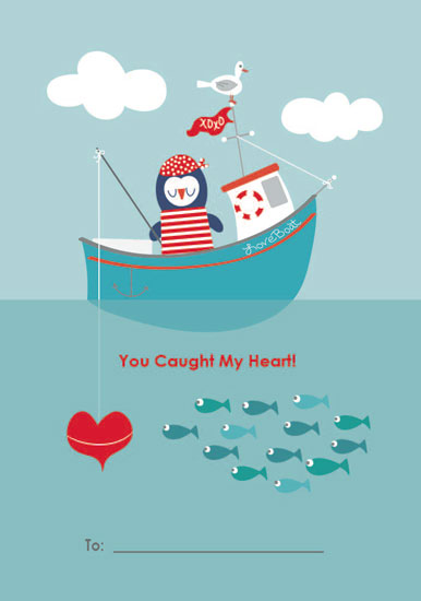 valentine's day - You Caught My Heart Valentine by Amanda K. Vickery