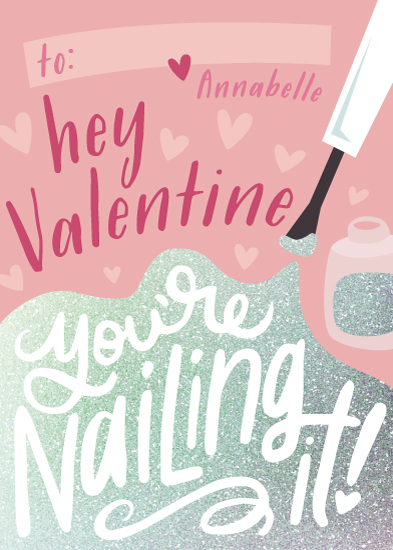 valentine's day - Nailing It by Laura Hankins