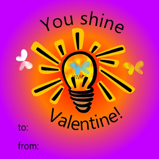 valentine's day - Shine on Valentine! by LD Gonzalez