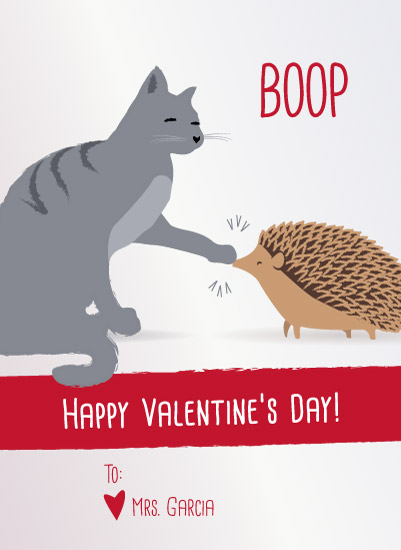 valentine's day - Kitty Boops Hedgie's Nose by Jessica Ray