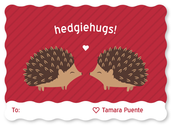 valentine's day - Hedgie Love by Jessica Ray