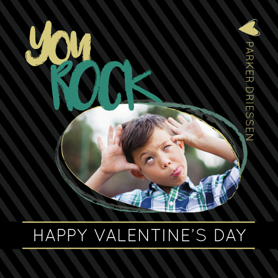 valentine's day - You Rock Photo Valentines by Jessica Ray