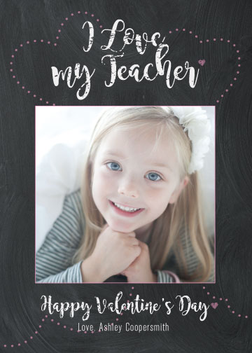 valentine's day - Teacher Love by Heather Peres