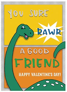 valentine's day - Dino Love by Marieke Fidler