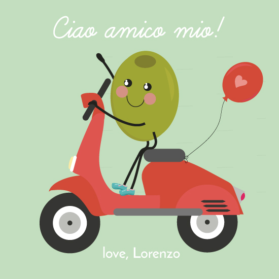 valentine's day - Ciao amico by AMagnes