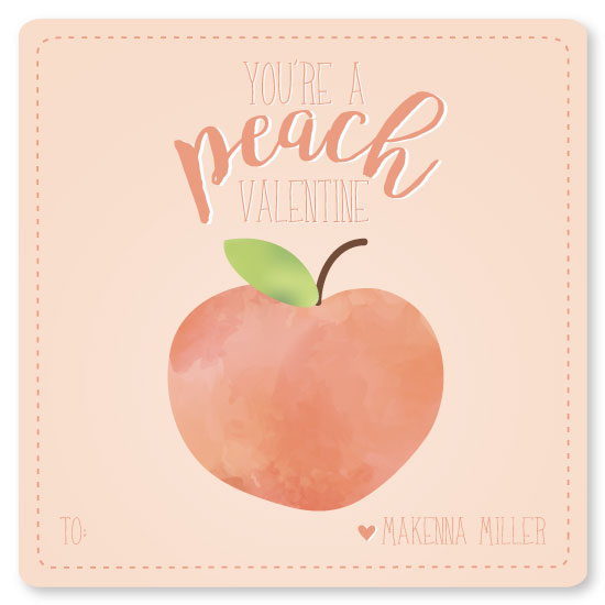 valentine's day - Just Peachy by Jessica Brooks