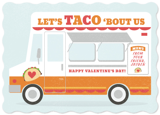 valentine's day - Taco Truck by Itsy Belle Studio
