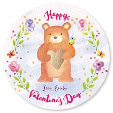 valentine's day - Valentine Bear by Sandy Miranda