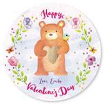 Valentine Bear by Sandy Miranda