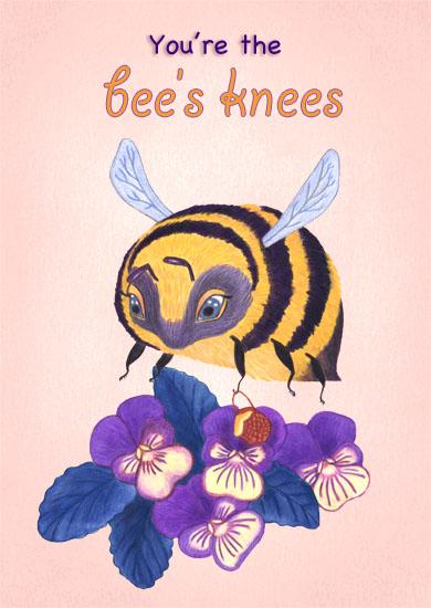 valentine's day - bee's knees by Ellen Lambrichts