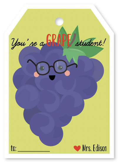 valentine's day - Grape student by Agnes Magai