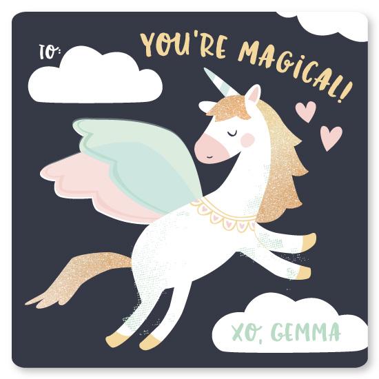 valentine's day - magical pegasus by peetie design