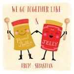 Peanut Butter and Jelly... by Louise Anglicas