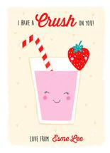 Strawberry Crush by Louise Anglicas