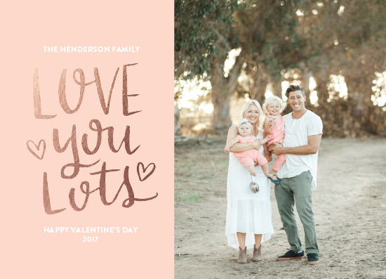 valentine's day - Love You Lots by Parrott Design Studio