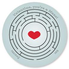 valentine's day - you're a maze by Concept Designz