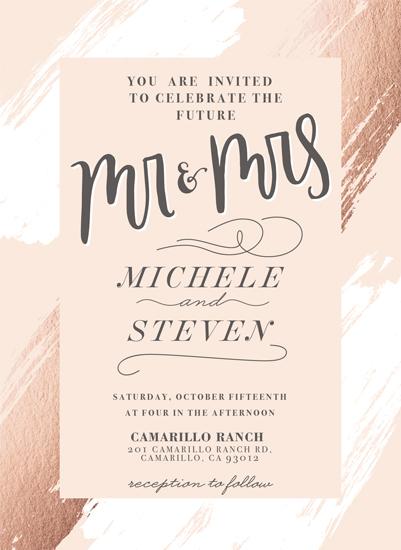 wedding invitations - Paint Detail by Alisa Brainard