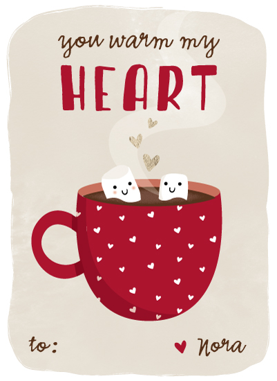 valentine's day - Hot Cocoa by Anne Holmquist