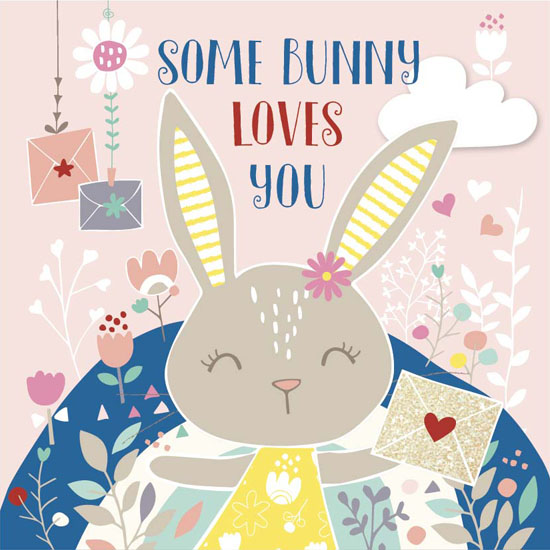 valentine's day - Some Bunny Loves You by YULLY ANA