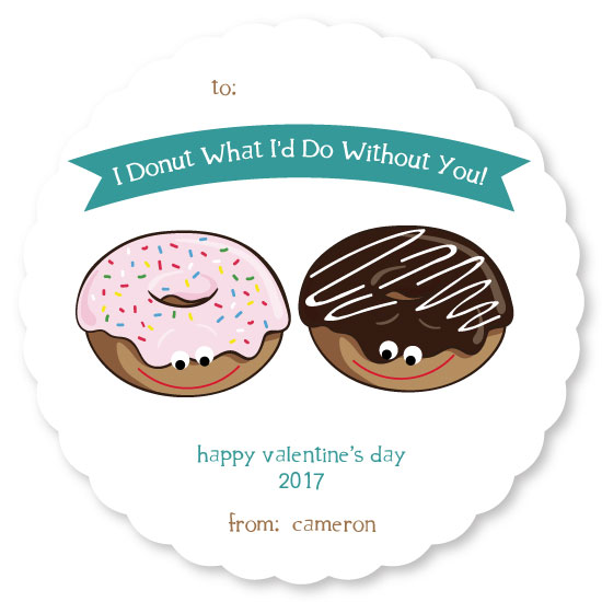 valentine's day - I Donut What I'd Do! by paperie and ink