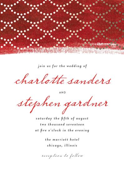 wedding invitations - Vanity Fair by lulu and isabelle