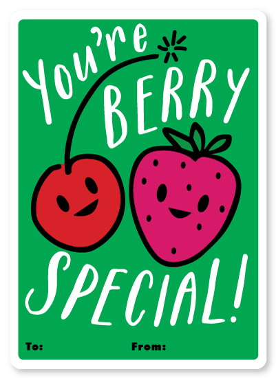 valentine's day - Cherry Berry by Jennifer Lew