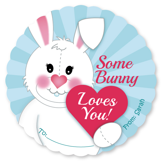 valentine's day - Bunny Love by Michelle Wagner